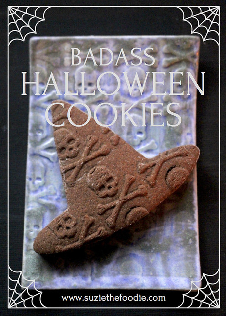 Badass Chocolate Halloween Cookies