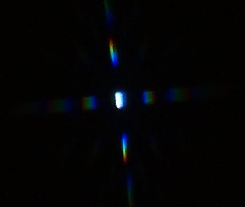 織女星的紗窗繞射光譜