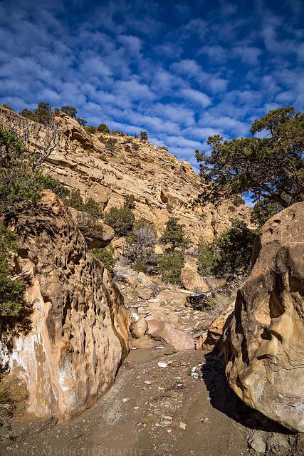 Between Boulders