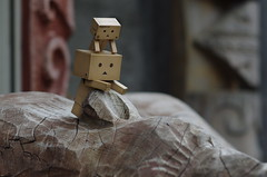 Danbo visits Lake Akan