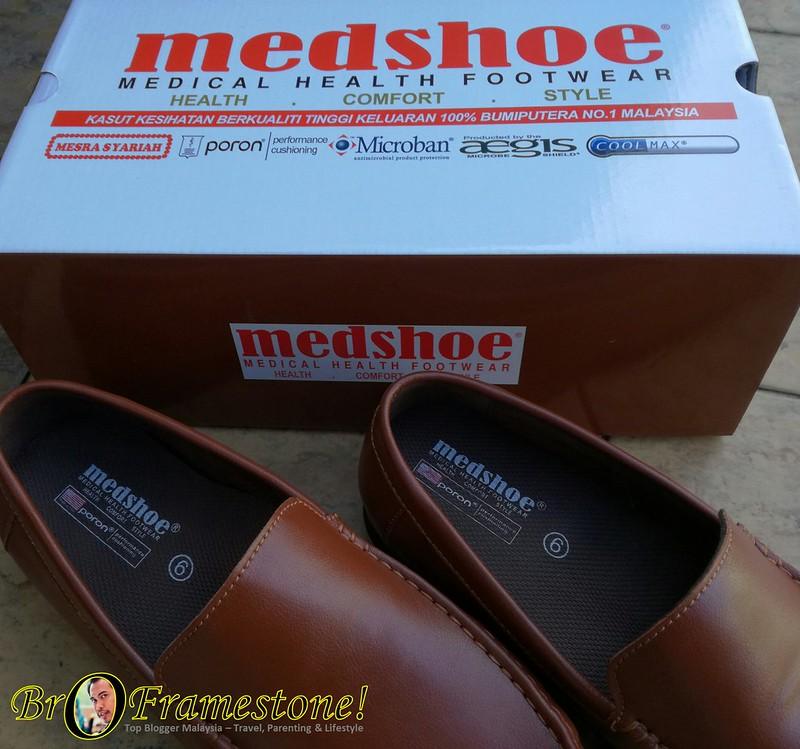Medshoe Malaysia Tampil Dengan Kasut Lelaki