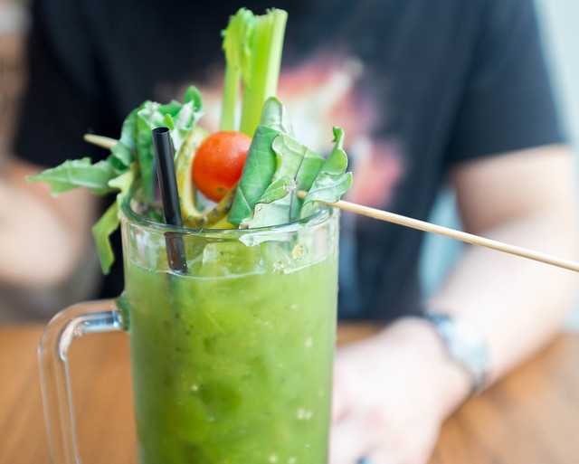 Maplewood Kitchen Roasted Tomatillo Bloody Mary