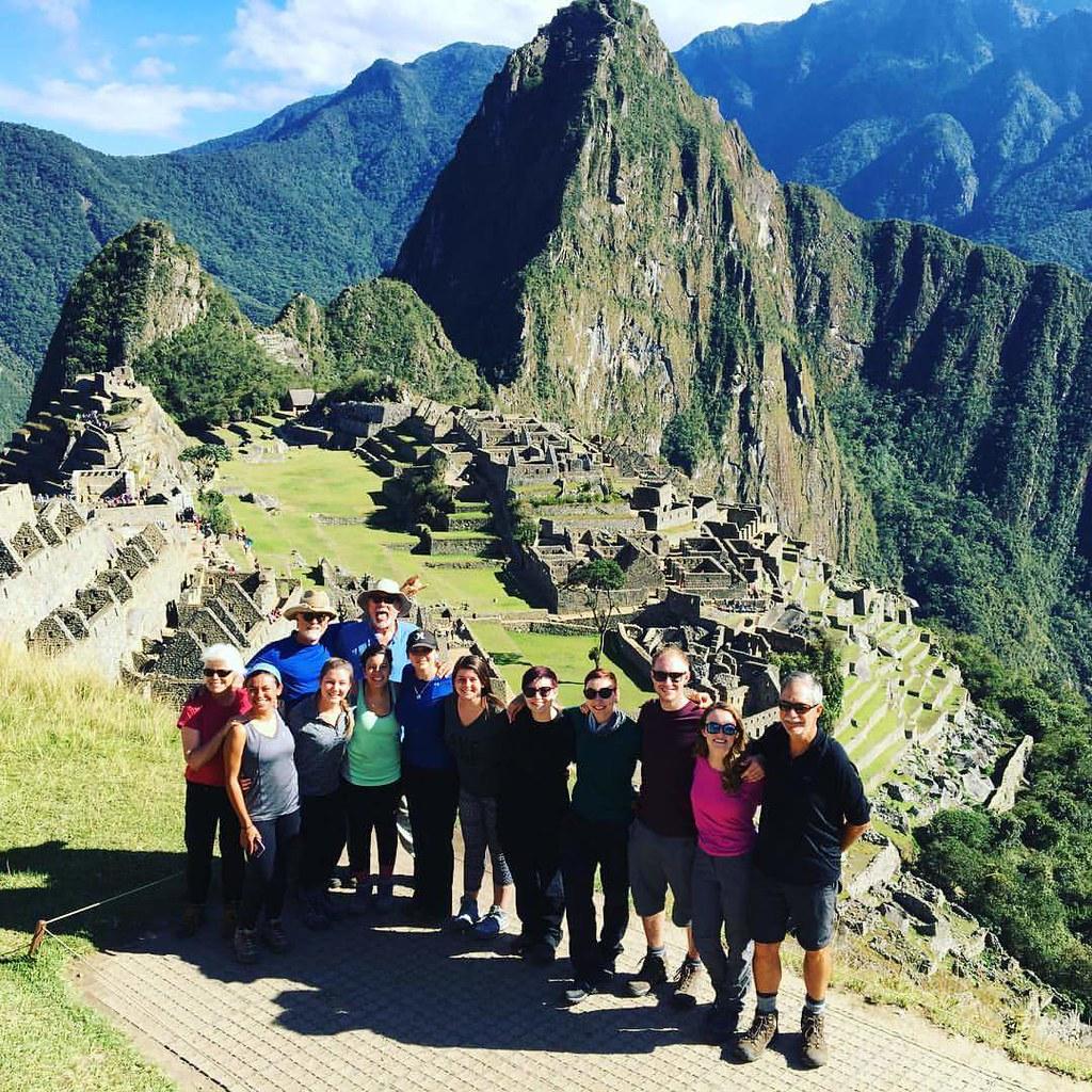The 'Alpaca Pack' at Machu Picchu