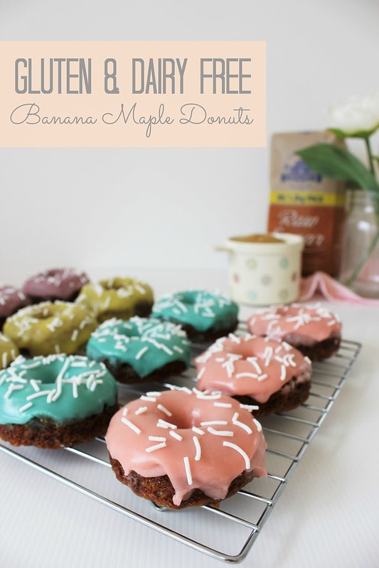 banana maple donuts