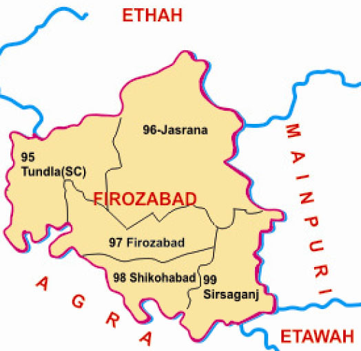 Firozabad district Uttar Pradesh Election 2017