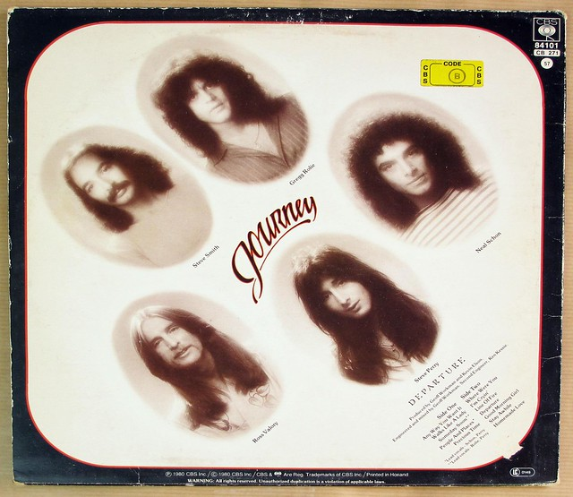 """JOURNEY DEPARTURE 12"""" LP VINYL"""