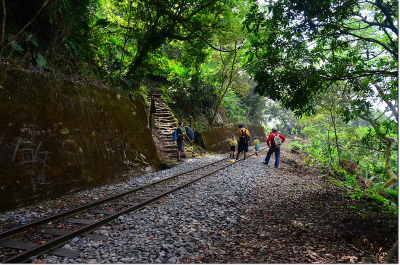 獨立山步道與鐵道交會處 2