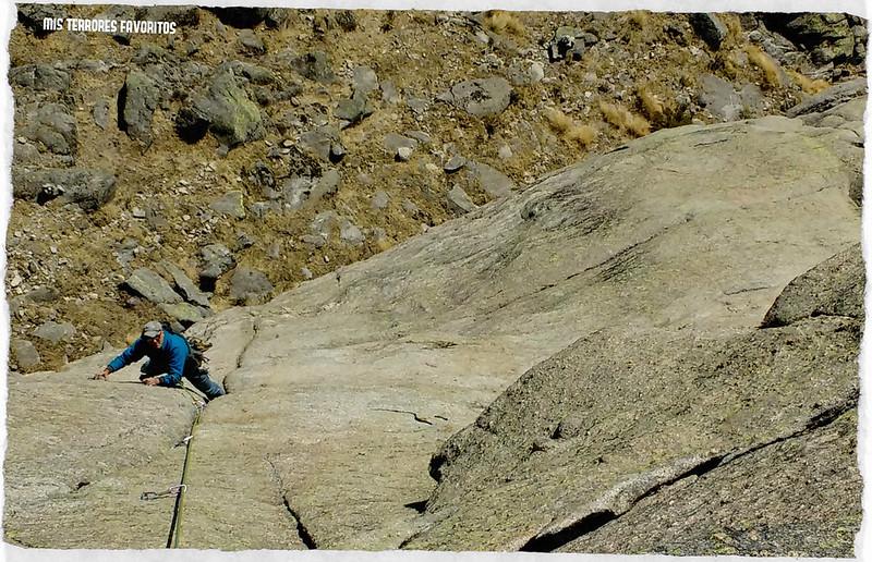 VÍA AZATHOZ 160 m 6c - PARED DE LOS ESBARRIGAOS - TOROZO