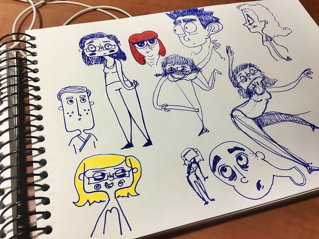 More generic character sketches