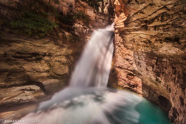 Lower Falls at Johnston Canyon