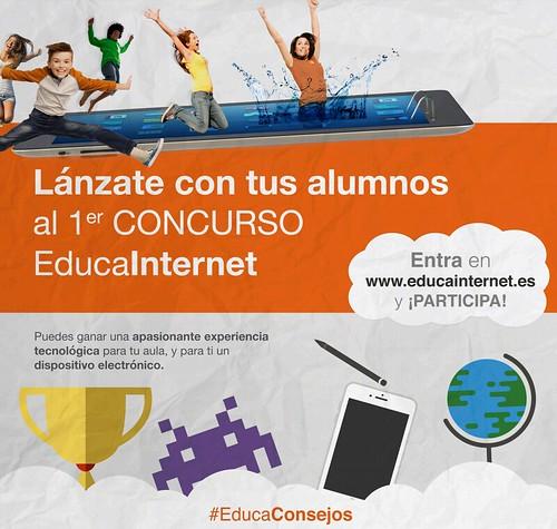 Primer Concurso EducaInternet #EducaConsejos