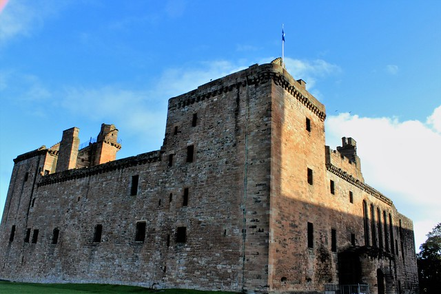 Linlithgow Palace.This was a repository of weapons and munitions used by the Earl of Arran's forces.