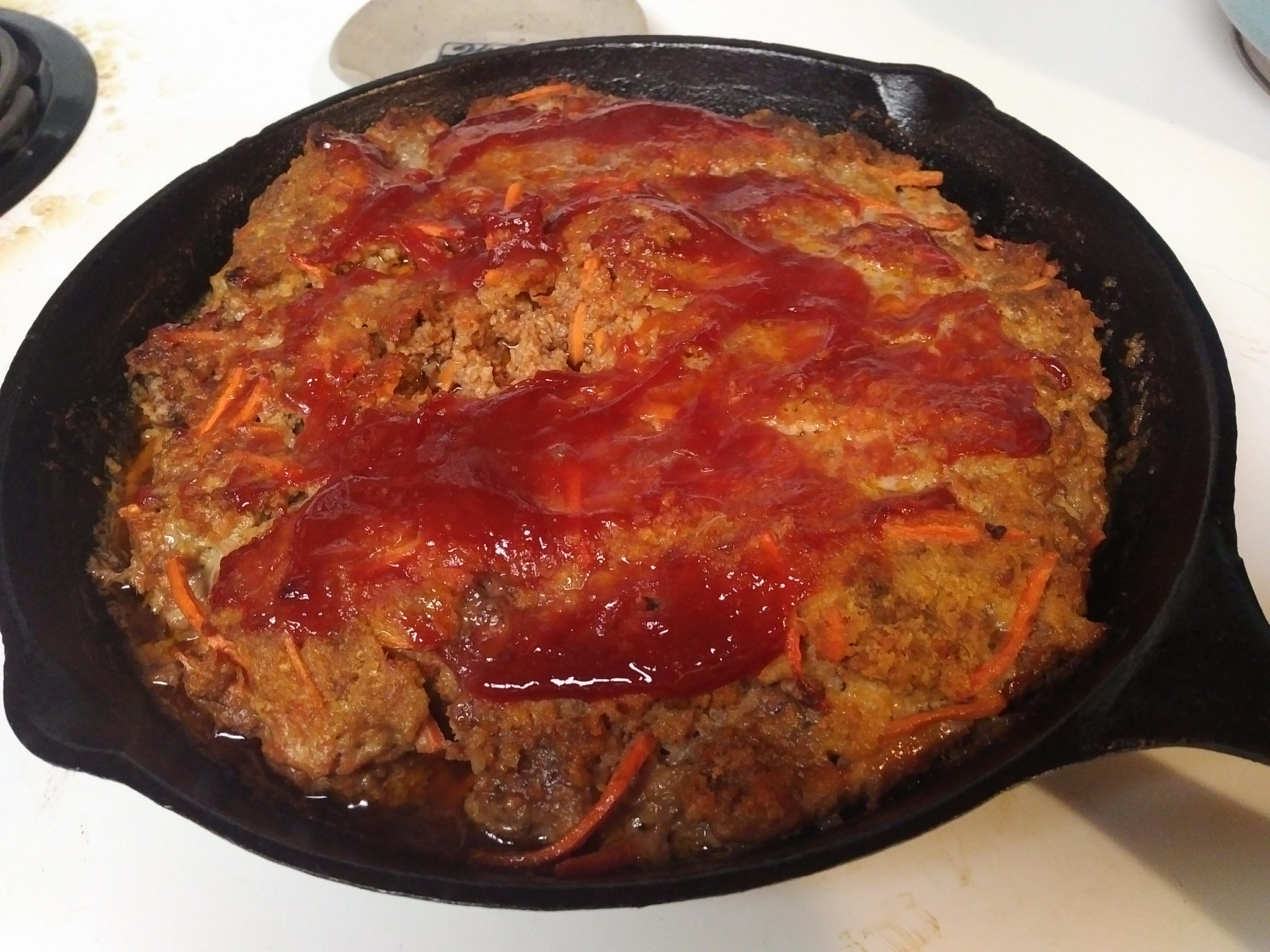 Skillet Meatloaf - Perfect!