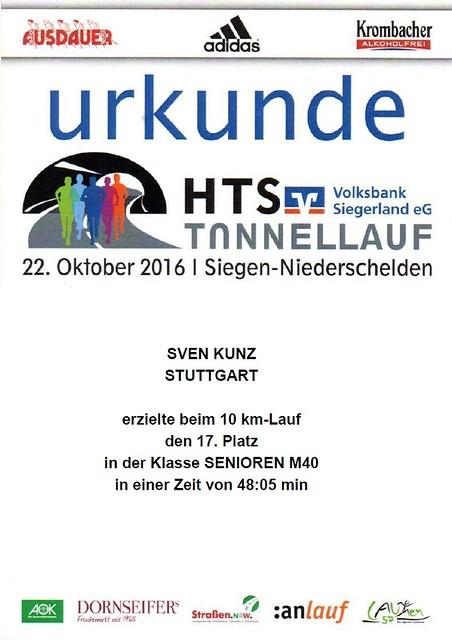 HTS-Urkunde