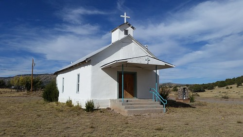 St Anne Mission Church, Horse Springs, NM