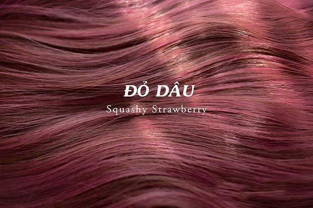 Mầu tóc đỏ dâu