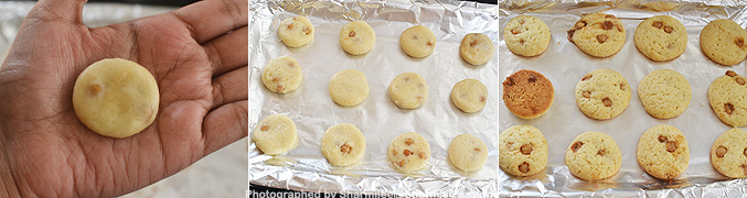How to make Eggless Butterscotch Cookies Recipe - Step4