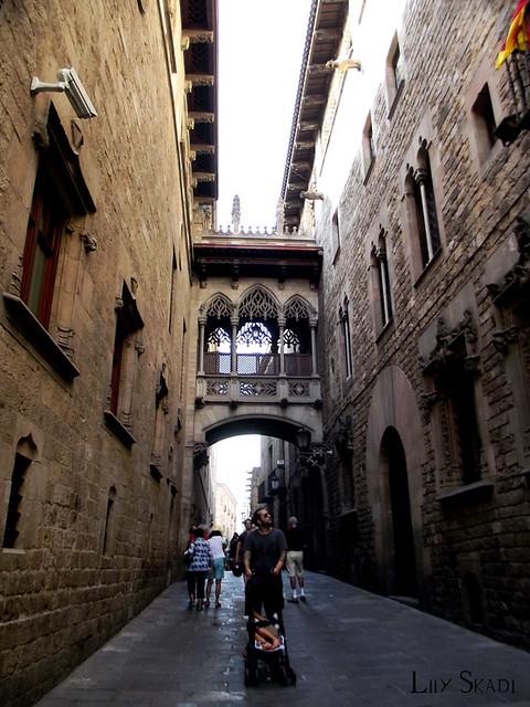 Carrer del Bisbe (Barcelona) 1