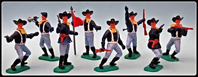 Toy soldiers, cowboys, indians, space men etc 31410408055_7d49e00ba8_c