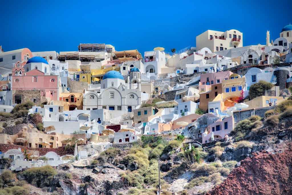 Buildings of Oia