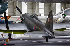 MM53265 5 - 72 - Italian Air Force - FIAT G.55 Centauro - Italian Air Force Museum Vigna di Valle, Italy - 160614 - Steven Gray - IMG_0364_HDR