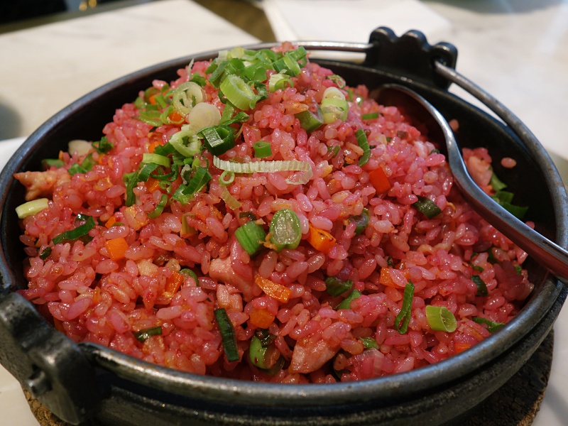 Yum Cha beetroot fried rice