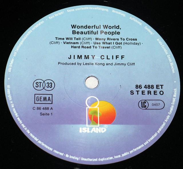 Jimmy Cliff Wonderful World Beautiful People + Vietnam