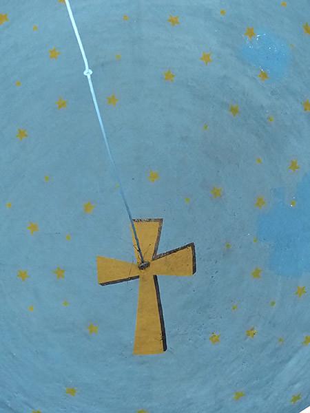 voûte de l'église