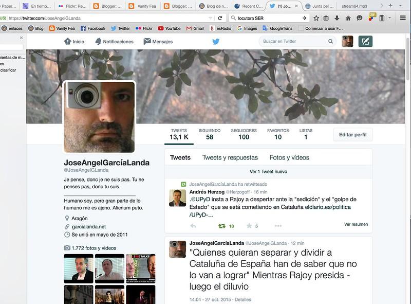 Cumplo cien seguidores en Twitter