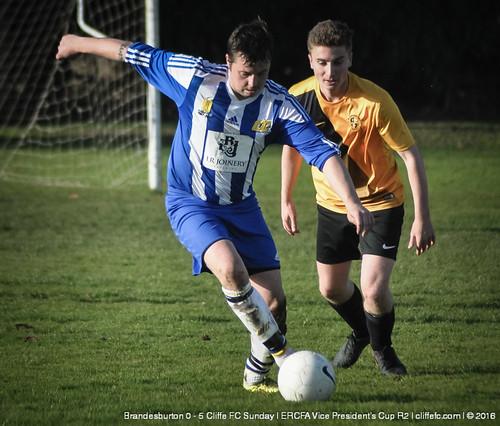 Cliffe FC Sunday 5 - 0 Brandesburton