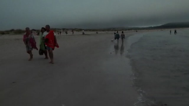 Paseo por la playa de Corrubedo