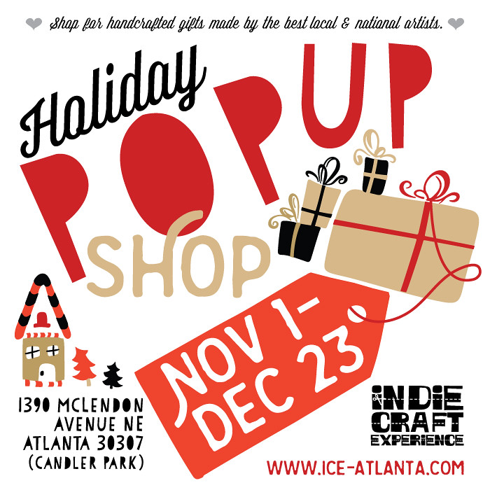 ICE Pop Up Holiday Shop 2016