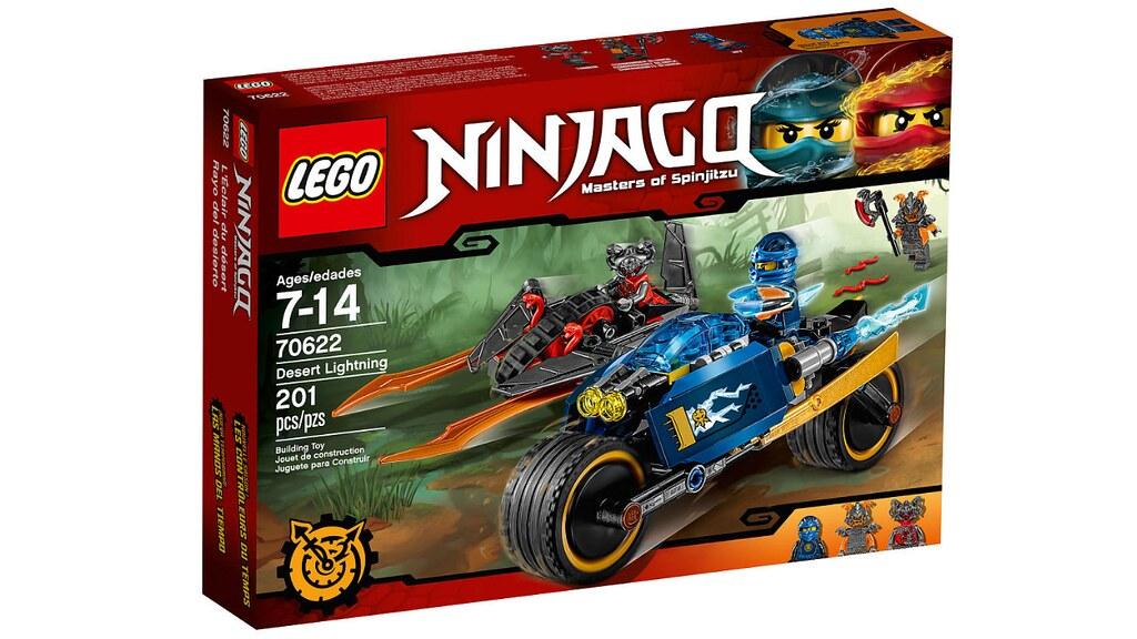 LEGO Ninjago 70622 - Desert Lightning
