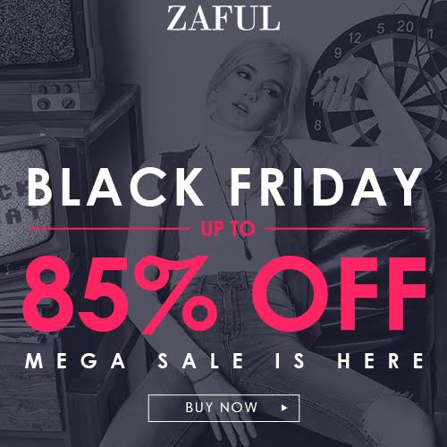 Zaful Black friday banner