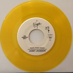 JANET JACKSON:AGAIN(RECORD SIDE-B)