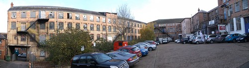 Wycombe warehouse panorama
