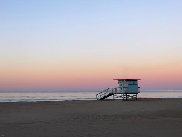 Zuma beach on Dec. 1