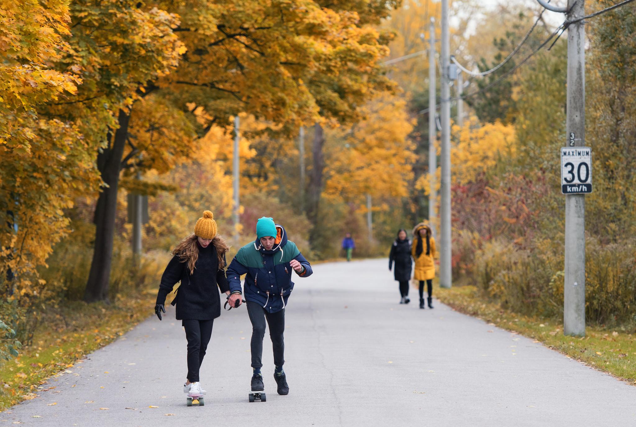 Toronto Island Skateboarders