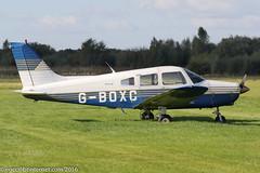 G-BOXC - 1988 build Piper PA-28-161 Cherokee Warrior II, visiting Barton