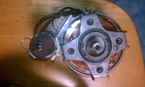 GS2000 motor from above