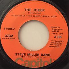 STEVE MILLER BAND:THE JOKER(LABEL SIDE-A)