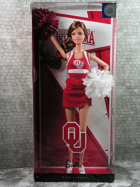 2012 Barbie University of Oklahoma Tori X9205 Indonesia (2)