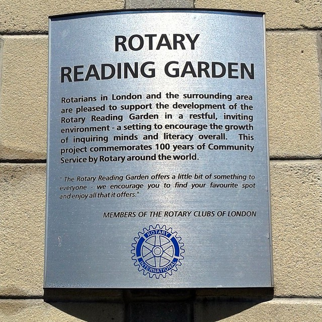 Rotary Reading Gardens London Ontario