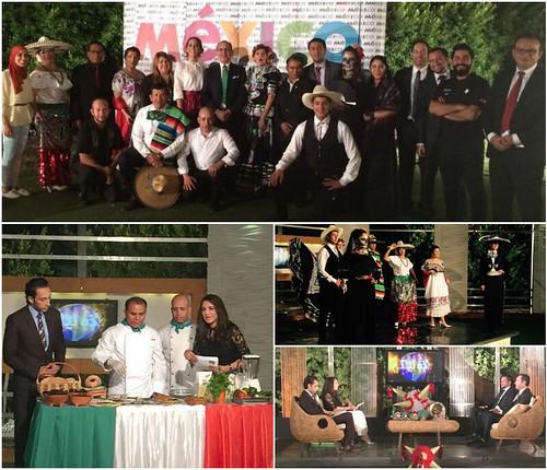Programa especial sobre México en la televisión egipcia