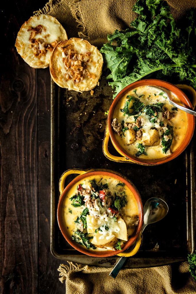 Slow Cooker Zuppa Toscana {Girl Carnivore}