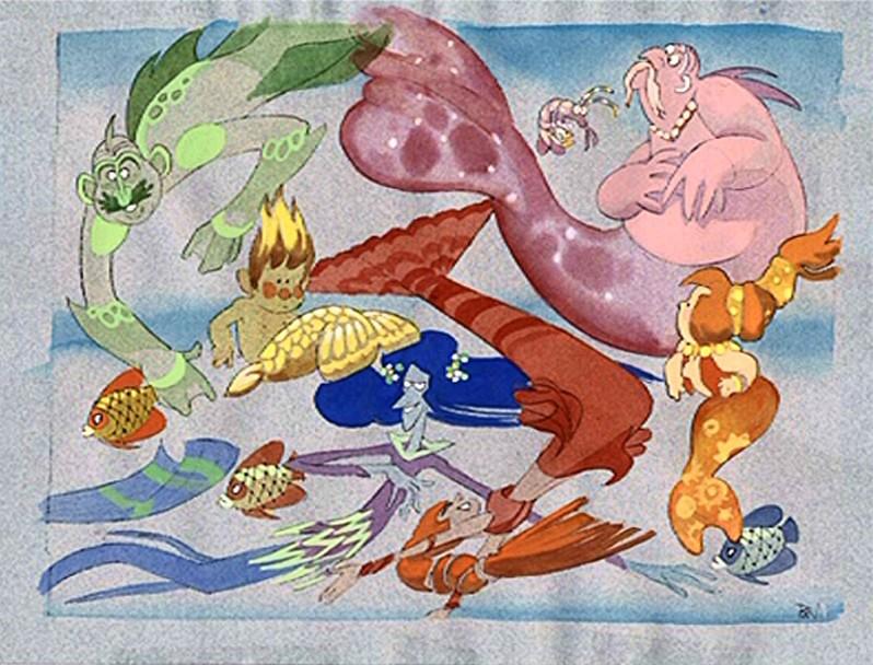 La Sirenita Arte 00056