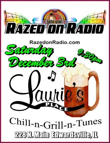 Razed On Radio 12-3-16
