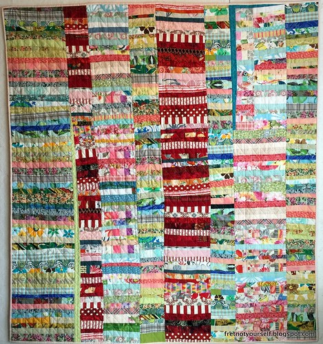 ChineseCoinsImprovStringQuilt