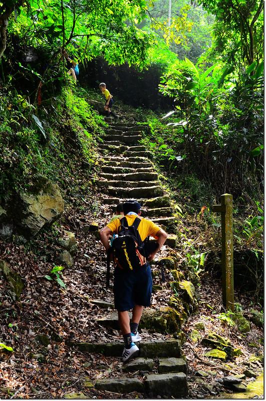 獨立山步道石階步道 2