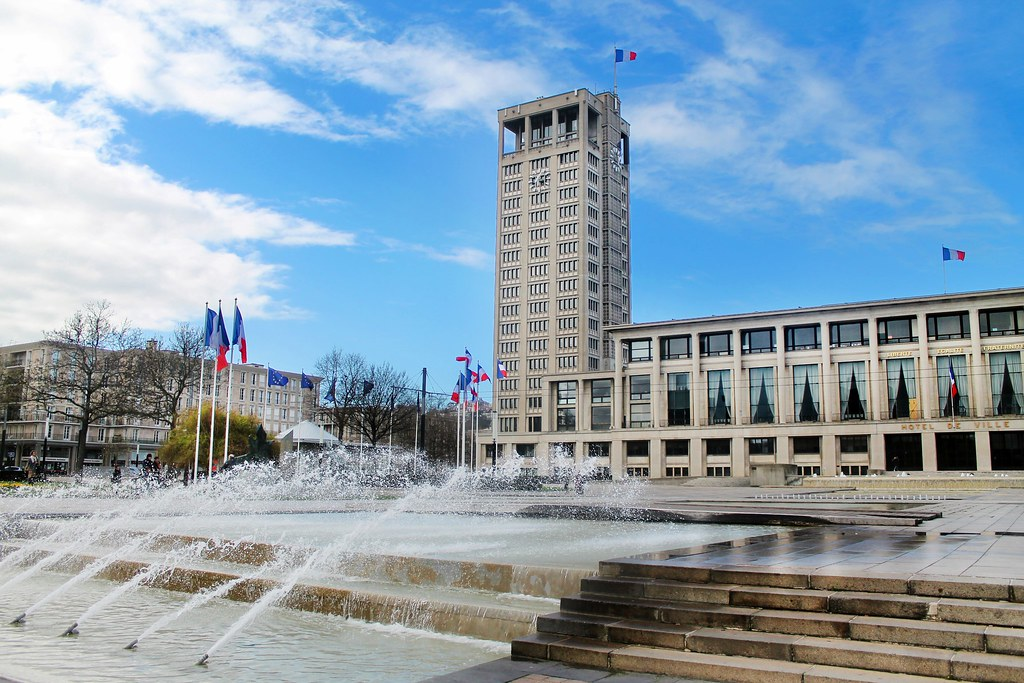 Drawing Dreaming - Guia de visita de Le Havre, Normandia - Hôtel de Ville
